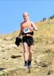 Minde Erickson Speeding to Finish First in the 2012 Ridge Run